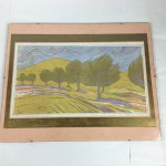"1966 Tiiu Reissar Signed Limited Edition Print ""Olive Trees"" 6/18 - Lot 113D"