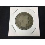 1901-S US Barber Silver Half Dollar - San Francisco - LOW MINT - Lot 58F - FH