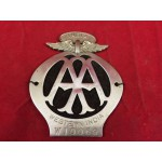 Rare Original Antique AA of Western India Car Badge - Lot 540A FH
