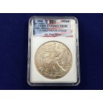 1997 USA Toned Silver Eagle MS60 In Slab - Lot 482C - FH
