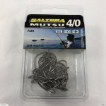 4/0 Mutsu Recurve Bulk Pack of Hooks - Qty 28 - Lot 150W