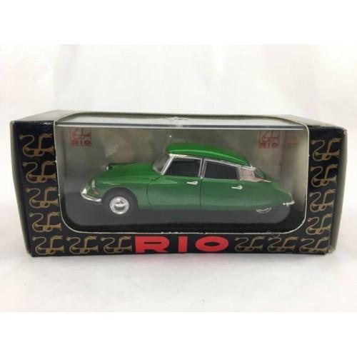 Rio 1956 Citroen Ds 19 Sedan 143 Diecast Car Lot 132da