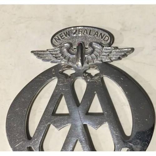Vintage Aa Badge Auckland Vehicle Parts & Accessories