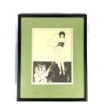 Aubrey Beardsley Framed Lithograph/Print - Lot 114E HF