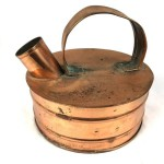 Antique Copper Barge Kettle - Lot 330E