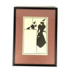 Aubrey Beardsley Framed Lithograph/Print - Lot 113E HF