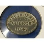 1847 St. Cuthbert's Church Communion Token No. 1326 - Lot 603A