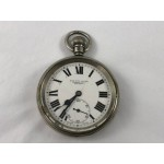 Antique Railway Pocket Watch - H.j. Grieve Ltd. Hastings - Lot 580C