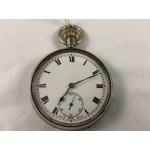 Antique 1920's Swiss Pocket Watch with Sub Second Dial - Lot 585C