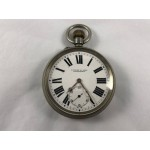 1914 Antique Baume Longines Pocket Watch with Sub Second Dial - Lot 594C