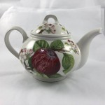 Portmeirion Pomona Teapot (Hoary Morning Apple) - Lot 857E