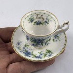 """Royal Albert Miniature Duo - Flower of the Month """"July"""" - Lot 883E"""