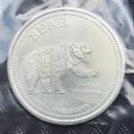 .999 Pure Silver 1oz USA Bear & Bull Silver Round - Lot 653C