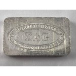 .999 Pure Silver 1oz USA XAG Silver Ingot - Lot 662C