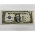 1928 US Funny Back Silver Certificate $1 Banknote - Lot 673C