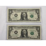 2003 US Star Replacement Banknotes Sequential Pair - Lot 671C