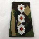 Military Cloth Badge - Lieutenant - Slide Rank -  Lot 694C