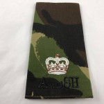 Military Cloth Badge - Major - Argyll & Sutherland Highlanders - Lot 695C