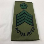 Military Cloth Badge - Drum Major - Royal Irish - Lot 699C