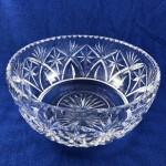 Vintage Webb Corbett Large Crystal Salad / Fruit Bowl - Lot 190F