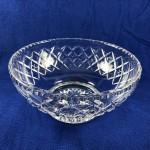 Vintage Stuart Crystal Large Raised Salad / Fruit Bowl - Lot 193F