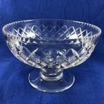 Vintage Stuart Crystal Large Footed Salad / Fruit Bowl - Lot 192F