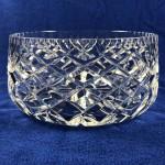 Vintage Crystal Large Salad / Fruit Bowl - Lot 194F