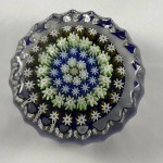 Vintage Perthshire Art Glass Millefiori Paperweight - Lot 198F