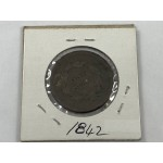 1842 USA Braided Hair - Small Date - One Cent (Penny) Coin - Scarce - Lot 719C