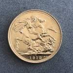 1912-S Australian Full Sovereign Gold Coin (Sydney Mint) - Lot 549