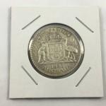 1943 Australian Florin Silver Coin (nice grade) - Lot 333C