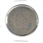1830 US Coronet Liberty Head Large Cent - Lot 337C