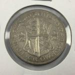 1928 George V British Silver Half Crown (AU) - Lot 345C
