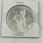 2014 Year of the Horse .999 Pure Silver Round - Lot 350C