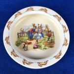 1940's Royal Doulton Bunnykins - Barbara Vernon - Feeding Bowl - Lot 123W