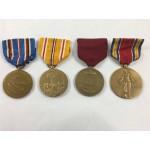 Original World War 2 Medals American Group of Four -  Lot 369C
