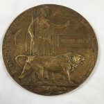 Original World War 1 Memorial Plaque to Gilbert Wilson - Lot 371C