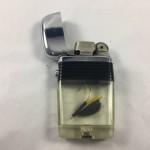 "Vintage 1950's Vu-Lighter by Scripto ""Trout Fisher"" Lighter - Lot 377C"