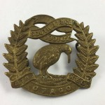 NZ 4th Otago Rifles Regiment Cap Badge - Lot 488C