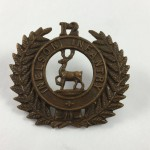 NZ 12th Nelson Regiment Cap Badge - Lot 499C