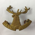 NZ 19th Nelson Mounted Rifles Large Cap Badge - Lot 501C