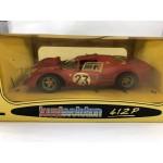 1967 Ferrari 412P Lemans - 1/18 Scale Die Cast Car Jouef Evolution - Lot 199G