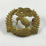 NZ 4th Otago Rifles Regiment Collar Badge - Lot 525C