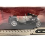 1947 MG TC Midget 1:18 Scale - Leather Series - Road Signature - Lot 204G