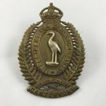 NZ 1st Canterbury Regiment Cap Badge - Lot 520C