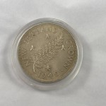 1949 New Zealand Silver Crown Coin - Lot 892C