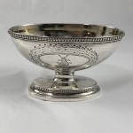 1781 George III Antique Sterling Silver Raised Sweets Dish - Lot 234W