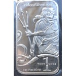 .999 Pure Silver 1oz USA Trident Silver Bar - Lot 660C