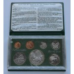 1980 New Zealand - Proof Coin Set in Case  - Lot 536C
